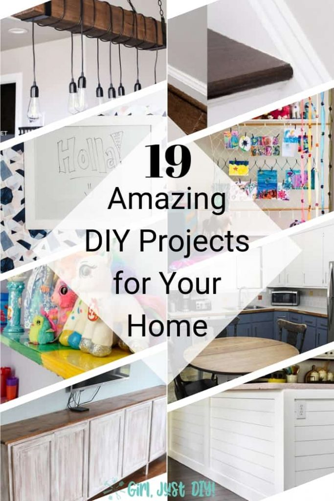 Amazing Household DIY Projects Collage.