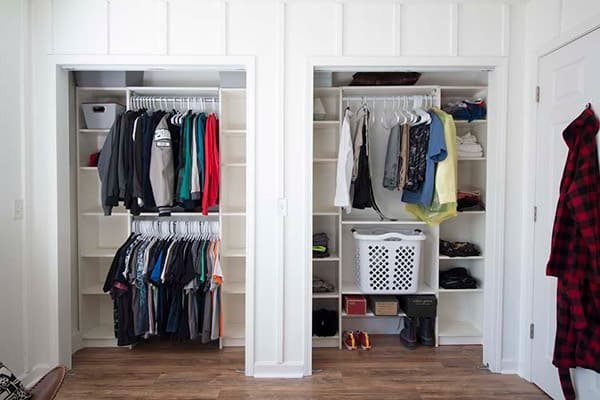 Closet System in bedroom added  in Household DIY Projects.
