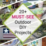 20+ Outdoor DIY Projects