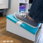 Easy Wooden DIY Footrest