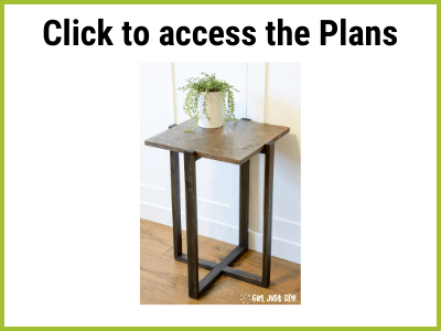Opt-in button for Modern End Table Plans