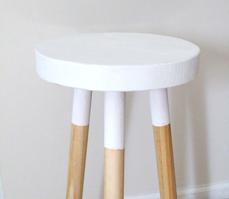 How to Make an Easy Round Stool | Simple DIY Furniture Build