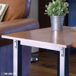 DIY Industrial End Table Makeover - How to Restyle a Mission Table