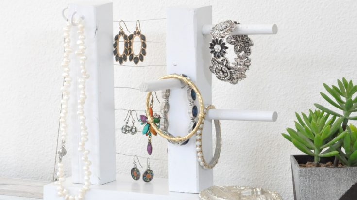 DIY Jewelry Holder - How To Build A Simple Organizer