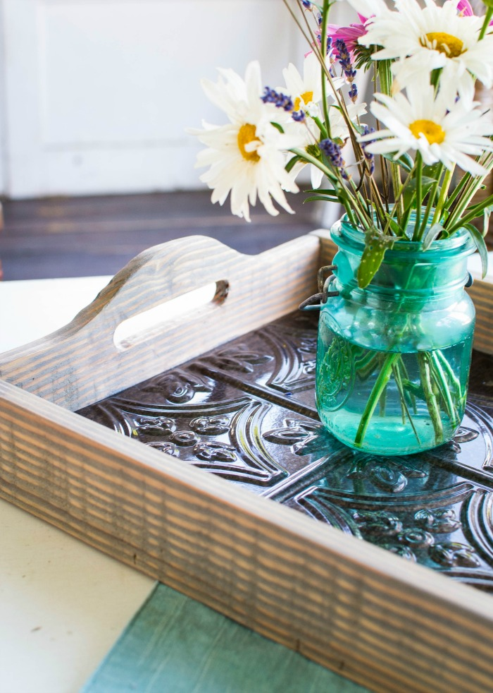 DIY Wood Tray - Red Cottage Chronicles