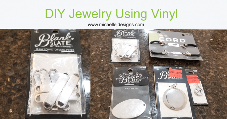 Easy Unique Bracelets and Pendant Using Vinyl