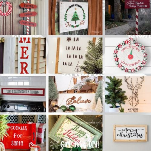 Square image of creative signs to DIY