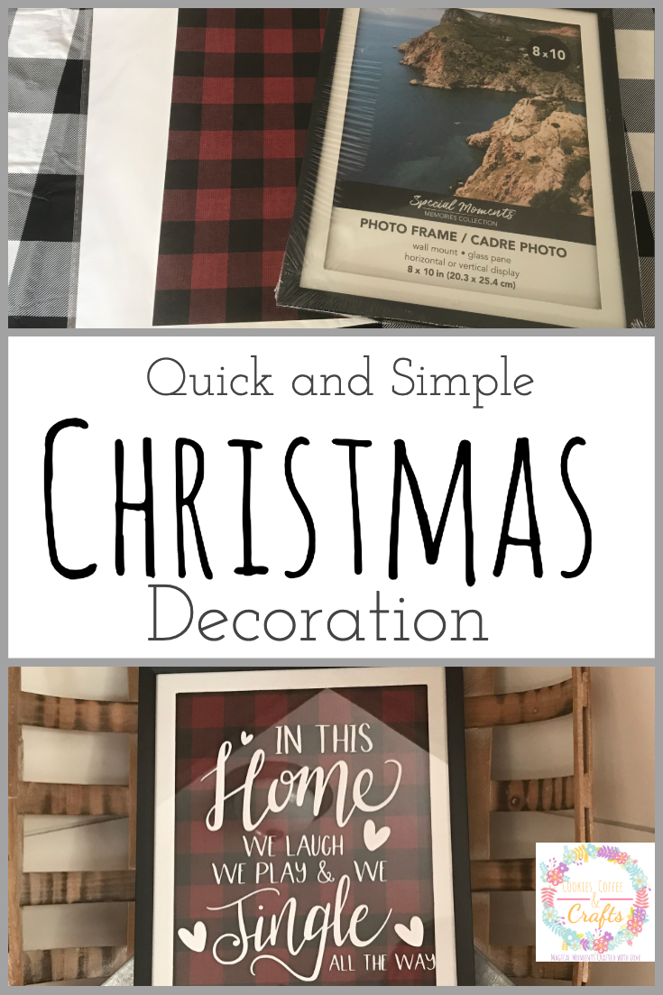Quick and Simple Christmas Decoration