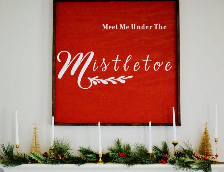 DIY Large Christmas Sign